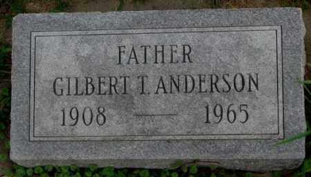 ANDERSON, GILBERT T. - Dakota County, Nebraska | GILBERT T. ANDERSON - Nebraska Gravestone Photos
