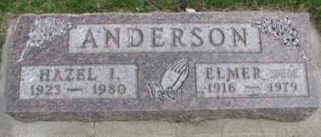 ANDERSON, HAZEL I. - Dakota County, Nebraska   HAZEL I. ANDERSON - Nebraska Gravestone Photos