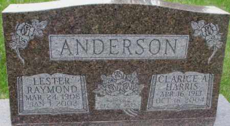 ANDERSON, CLARICE A. - Dakota County, Nebraska | CLARICE A. ANDERSON - Nebraska Gravestone Photos