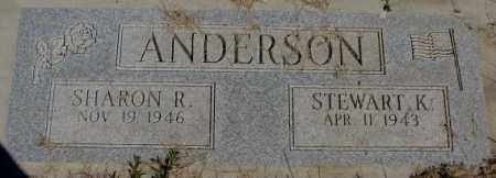 ANDERSON, STEWART K. - Dakota County, Nebraska | STEWART K. ANDERSON - Nebraska Gravestone Photos