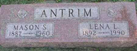 ANTRIM, LENA L. - Dakota County, Nebraska | LENA L. ANTRIM - Nebraska Gravestone Photos