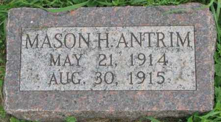 ANTRIM, MASON H. - Dakota County, Nebraska | MASON H. ANTRIM - Nebraska Gravestone Photos