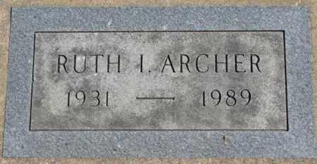 ARCHER, RUTH I. - Dakota County, Nebraska   RUTH I. ARCHER - Nebraska Gravestone Photos