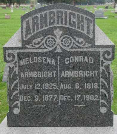 ARMBRIGHT, CONRAD - Dakota County, Nebraska | CONRAD ARMBRIGHT - Nebraska Gravestone Photos