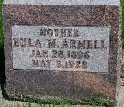 ARMELL, EULA M. - Dakota County, Nebraska | EULA M. ARMELL - Nebraska Gravestone Photos