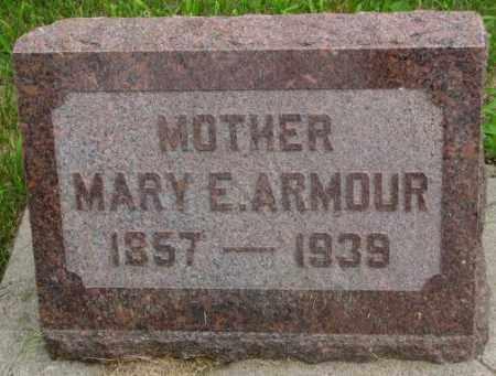 ARMOUR, MARY E. - Dakota County, Nebraska | MARY E. ARMOUR - Nebraska Gravestone Photos