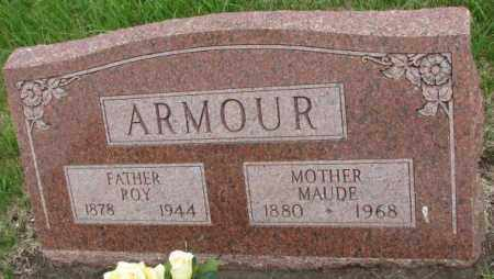 ARMOUR, MAUDE - Dakota County, Nebraska | MAUDE ARMOUR - Nebraska Gravestone Photos