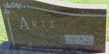 ARTZ, JACK A. - Dakota County, Nebraska | JACK A. ARTZ - Nebraska Gravestone Photos