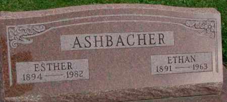 ASHBACHER, ETHAN - Dakota County, Nebraska   ETHAN ASHBACHER - Nebraska Gravestone Photos