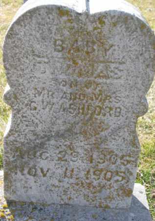 ASHFORD, THOMAS (INFANT) - Dakota County, Nebraska | THOMAS (INFANT) ASHFORD - Nebraska Gravestone Photos
