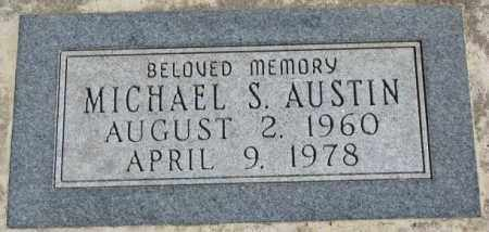 AUSTIN, MICHAEL S. - Dakota County, Nebraska | MICHAEL S. AUSTIN - Nebraska Gravestone Photos