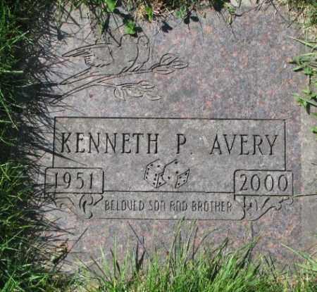 AVERY, KENNETH P. - Dakota County, Nebraska | KENNETH P. AVERY - Nebraska Gravestone Photos