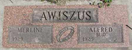 AWISZUS, MERLINE - Dakota County, Nebraska | MERLINE AWISZUS - Nebraska Gravestone Photos