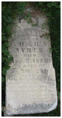 AYRES, FRANKIE - Dakota County, Nebraska | FRANKIE AYRES - Nebraska Gravestone Photos