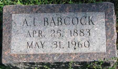 BABCOCK, A.L. - Dakota County, Nebraska | A.L. BABCOCK - Nebraska Gravestone Photos