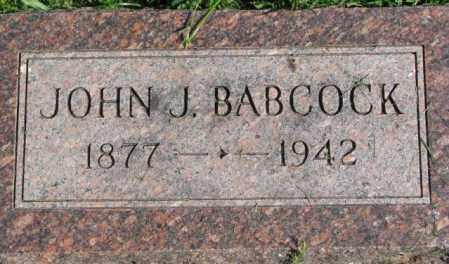 BABCOCK, JOHN J. - Dakota County, Nebraska   JOHN J. BABCOCK - Nebraska Gravestone Photos