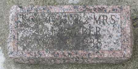 BARBER, SON - Dakota County, Nebraska | SON BARBER - Nebraska Gravestone Photos