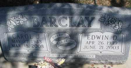 BARCLAY, EDWIN D. - Dakota County, Nebraska   EDWIN D. BARCLAY - Nebraska Gravestone Photos