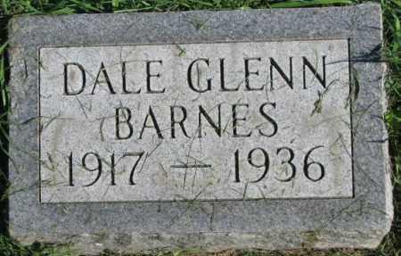 BARNES, DALE GLENN - Dakota County, Nebraska | DALE GLENN BARNES - Nebraska Gravestone Photos