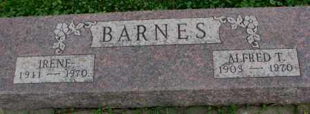 BARNES, ALFRED T. - Dakota County, Nebraska | ALFRED T. BARNES - Nebraska Gravestone Photos