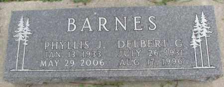 BARNES, DELBERT G. - Dakota County, Nebraska | DELBERT G. BARNES - Nebraska Gravestone Photos