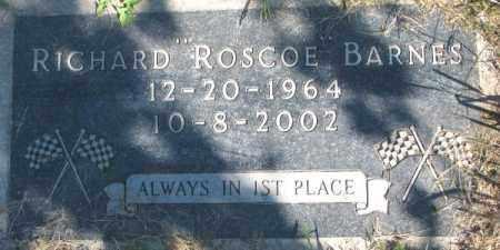 "BARNES, RICHARD ""ROSCOE"" - Dakota County, Nebraska | RICHARD ""ROSCOE"" BARNES - Nebraska Gravestone Photos"