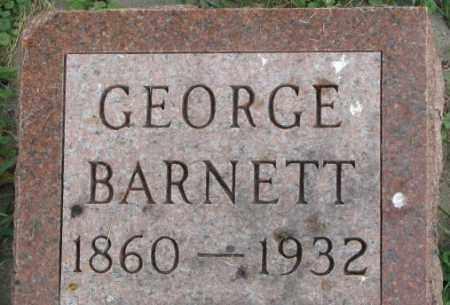 BARNETT, GEORGE - Dakota County, Nebraska | GEORGE BARNETT - Nebraska Gravestone Photos