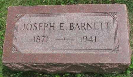 BARNETT, JOSEPH E. - Dakota County, Nebraska | JOSEPH E. BARNETT - Nebraska Gravestone Photos
