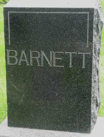 BARNETT, PLOT - Dakota County, Nebraska | PLOT BARNETT - Nebraska Gravestone Photos