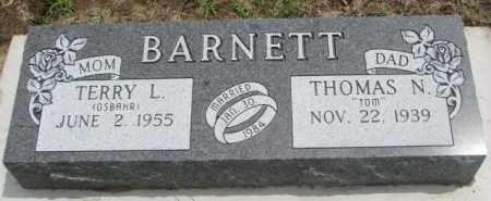 BARNETT, TERRY L. - Dakota County, Nebraska   TERRY L. BARNETT - Nebraska Gravestone Photos