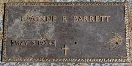 BARRETT, LAVONNE R. - Dakota County, Nebraska | LAVONNE R. BARRETT - Nebraska Gravestone Photos
