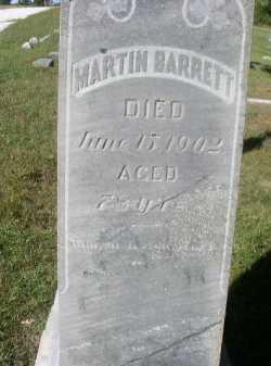 BARRETT, MARTIN - Dakota County, Nebraska | MARTIN BARRETT - Nebraska Gravestone Photos