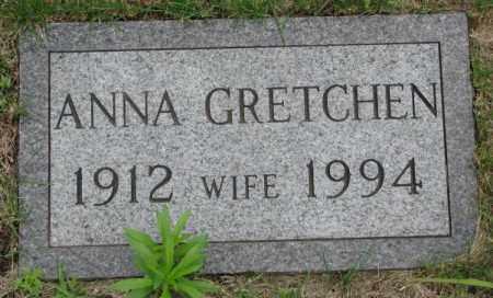 BARTELS, ANNA GRETCHEN - Dakota County, Nebraska | ANNA GRETCHEN BARTELS - Nebraska Gravestone Photos