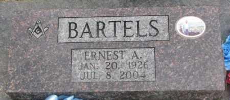 BARTELS, ERNEST A. - Dakota County, Nebraska   ERNEST A. BARTELS - Nebraska Gravestone Photos