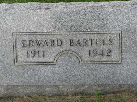BARTELS, EDWARD - Dakota County, Nebraska   EDWARD BARTELS - Nebraska Gravestone Photos