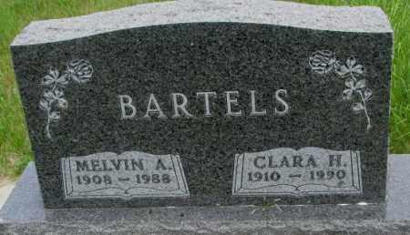 BARTELS, CLARA H. - Dakota County, Nebraska | CLARA H. BARTELS - Nebraska Gravestone Photos