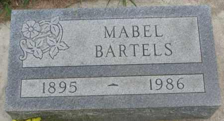 BARTELS, MABEL - Dakota County, Nebraska | MABEL BARTELS - Nebraska Gravestone Photos