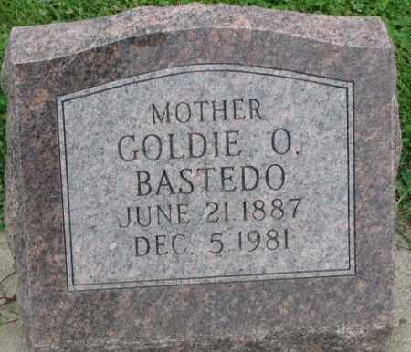 BASTEDO, GOLDIE O. - Dakota County, Nebraska   GOLDIE O. BASTEDO - Nebraska Gravestone Photos