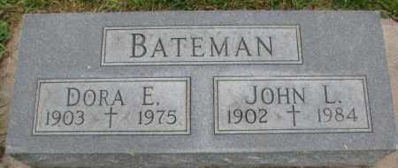 BATEMAN, DORA E. - Dakota County, Nebraska   DORA E. BATEMAN - Nebraska Gravestone Photos