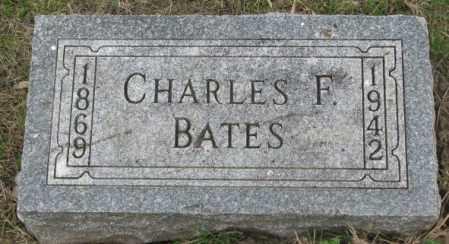 BATES, CHARLES F. - Dakota County, Nebraska   CHARLES F. BATES - Nebraska Gravestone Photos