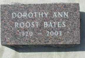 BATES, DOROTHY ANN - Dakota County, Nebraska   DOROTHY ANN BATES - Nebraska Gravestone Photos