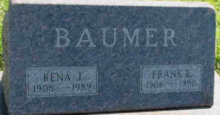 BAUMER, FRANK E. - Dakota County, Nebraska | FRANK E. BAUMER - Nebraska Gravestone Photos