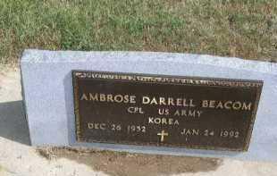 BEACOM, AMBROSE DARRELL - Dakota County, Nebraska | AMBROSE DARRELL BEACOM - Nebraska Gravestone Photos