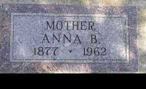 BEACOM, ANNA B. - Dakota County, Nebraska   ANNA B. BEACOM - Nebraska Gravestone Photos