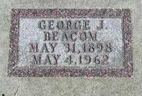 BEACOM, GEORGE J. - Dakota County, Nebraska | GEORGE J. BEACOM - Nebraska Gravestone Photos