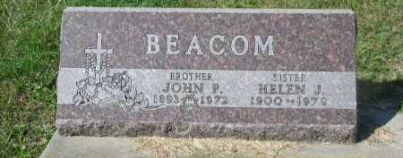 BEACOM, HELEN J. - Dakota County, Nebraska | HELEN J. BEACOM - Nebraska Gravestone Photos