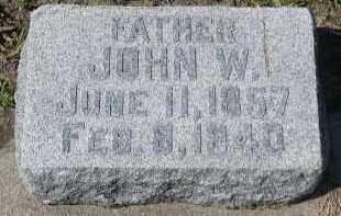 BEACOM, JOHN W. - Dakota County, Nebraska | JOHN W. BEACOM - Nebraska Gravestone Photos
