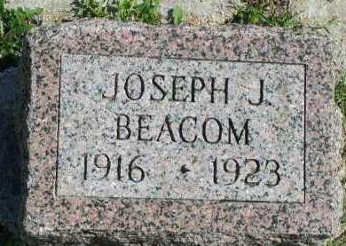 BEACOM, JOSEPH J. - Dakota County, Nebraska   JOSEPH J. BEACOM - Nebraska Gravestone Photos