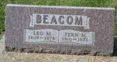 BEACOM, LEO M. - Dakota County, Nebraska | LEO M. BEACOM - Nebraska Gravestone Photos