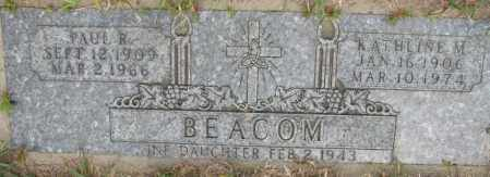 BEACOM, KATHLINE M. - Dakota County, Nebraska | KATHLINE M. BEACOM - Nebraska Gravestone Photos